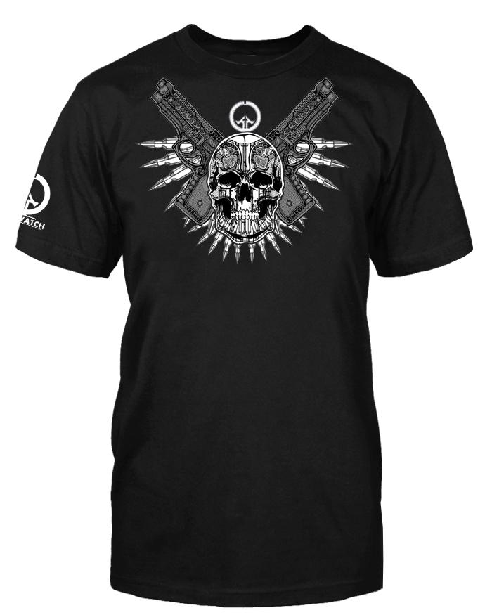 Skull and Guns Shirt